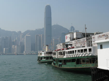 Star Ferry Pier in Kowloon